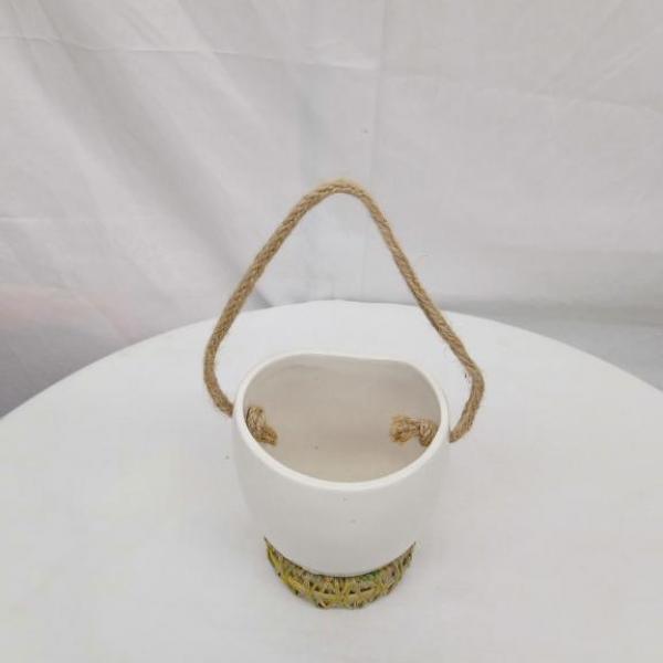 FD 285 Hanging ceramic Pot